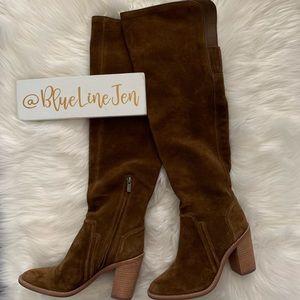 Melaya Suede Over the Knee Boots